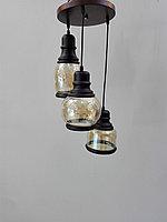 Люстра с разными плафонами, фото 1