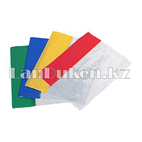 Обложка для книг разноцветная 24 шт А5 120 микрон