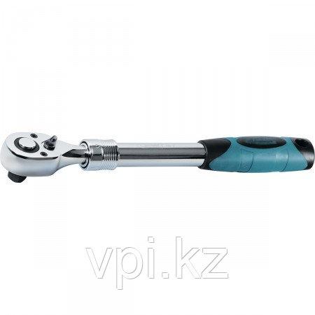 """Ключ трещоточный телескопический для торцевой головки,  305-445мм, 1/2"""" Gross"""