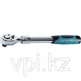 """Ключ трещоточный телескопический для торцевой головки,  215-315мм, 3/8"""" Gross"""