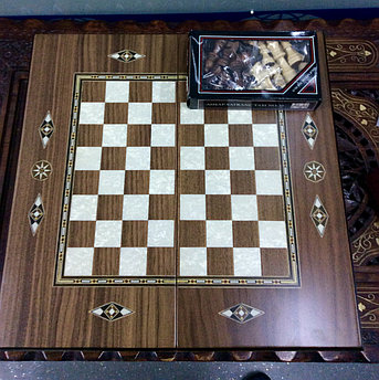 Нарды и шахматы, фото 2