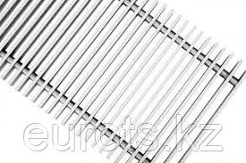 Декоративная алюминиевая решетка для внутрипольных конвекторов. Цвет: алюминий