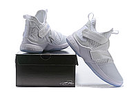"Кроссовки Nike Lebron Zoom Soldier 12 (XII) ""All White"" (40-46), фото 6"