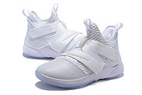 "Кроссовки Nike Lebron Zoom Soldier 12 (XII) ""All White"" (40-46), фото 2"