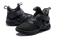 "Кроссовки Nikе Lebron Zoom Soldier 12 (XII) ""All Black"" (40-46), фото 2"