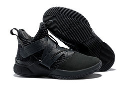 "Кроссовки Nike Lebron Zoom Soldier 12 (XII) ""All Black"" (40-46)"