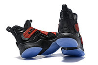 "Кроссовки Nike Lebron Zoom Soldier 12 (XII) ""Black/ Red"" (40-46), фото 5"