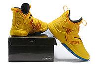 "Кроссовки Nike Lebron Zoom Soldier 12 (XII) ""Knight Yellow"" (40-46), фото 6"