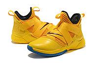 "Кроссовки Nike Lebron Zoom Soldier 12 (XII) ""Knight Yellow"" (40-46), фото 2"