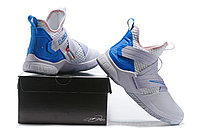 "Кроссовки Nike Lebron Zoom Soldier 12 (XII) ""White/ Blue"" (40-46), фото 6"