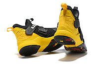 "Кроссовки Nike Lebron Zoom Soldier 12 (XII) ""Yellow/ Black"" (40-46), фото 5"