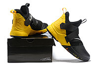 "Кроссовки Nike Lebron Zoom Soldier 12 (XII) ""Yellow/ Black"" (40-46), фото 6"