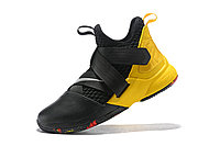 "Кроссовки Nike Lebron Zoom Soldier 12 (XII) ""Yellow/ Black"" (40-46), фото 4"