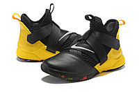 "Кроссовки Nike Lebron Zoom Soldier 12 (XII) ""Yellow/ Black"" (40-46), фото 2"