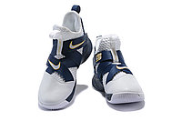 "Кроссовки Nike Lebron Zoom Soldier 12 (XII) ""Navy Blue/ White"" (40-46), фото 3"
