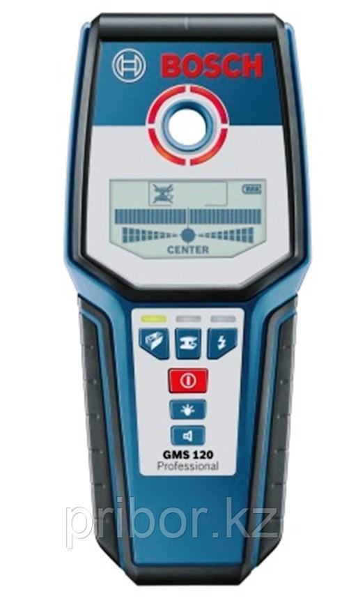 Детектор скрытых объектов в стенах BOSCH GMS 120 Professional