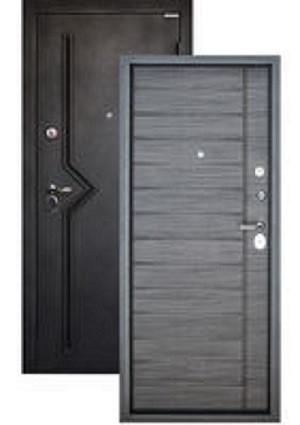 """Дверь металлическая входная """"Ницца Графит"""""""