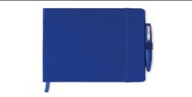 Блокнот A5 с Обложкой из Картона, Синий