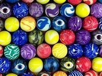 "Мячи прыгуны 25 мм ""Цветные зрачки"" 300 шт/уп"