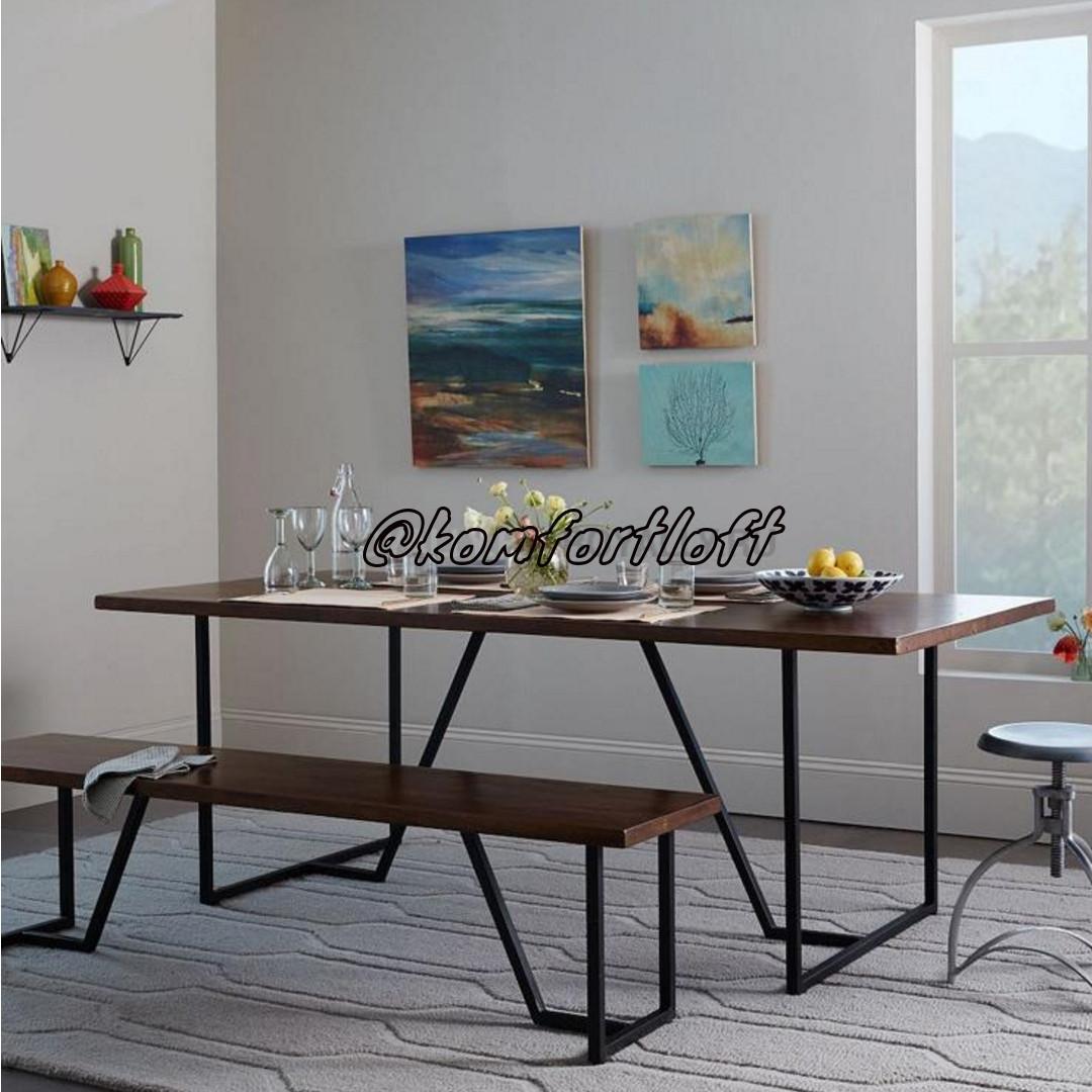 Комплект для столовой стиль Loft