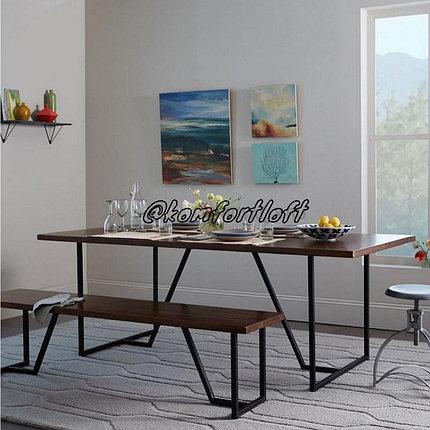 Комплект для столовой стиль Loft , фото 2