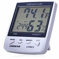 Термометр LT09013 с часами купить Нур-Султан недорого