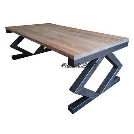 Стол в стиле Лофт из металла, фото 2