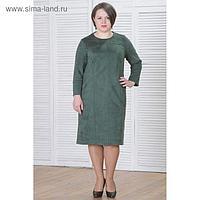 Платье женское 5946б цвет зеленый, р-р 50