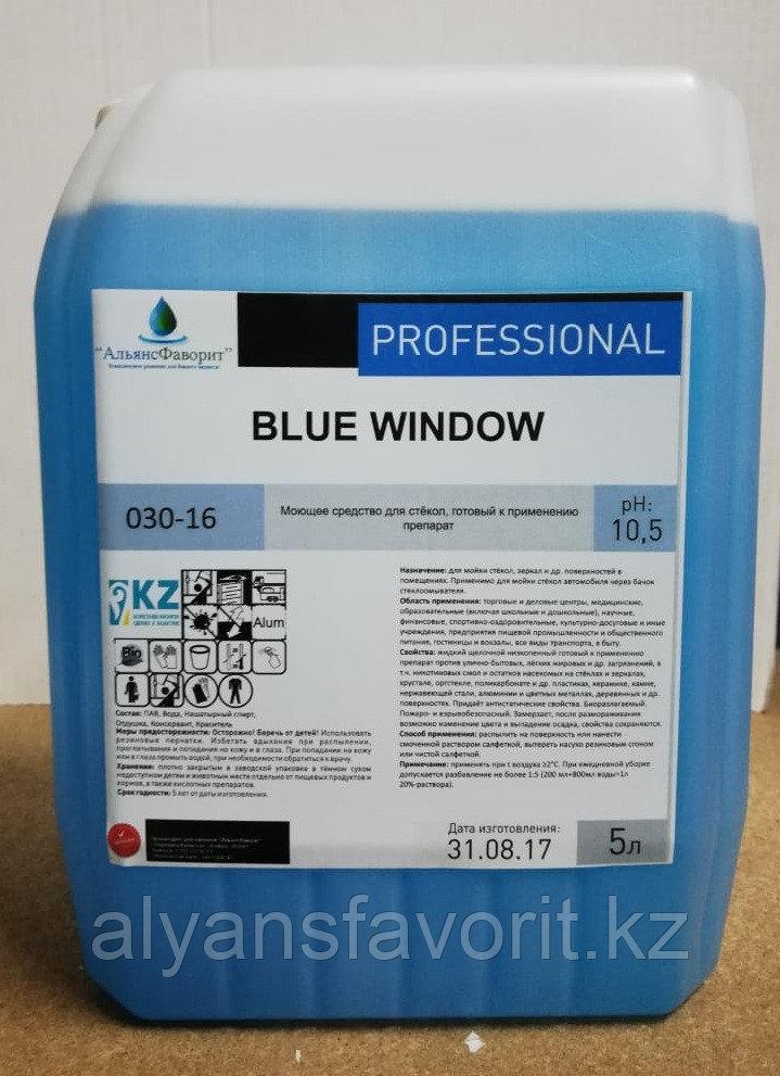 Blue Window - средство для мытья окон и зеркал- концентрат. 5 литров.РК