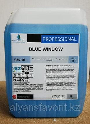 Blue Window - средство для мытья окон и зеркал- концентрат. 5 литров.РК, фото 2