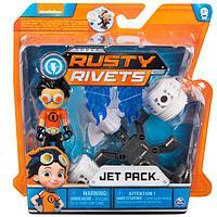 Rusty Rivets 28120-JET Строительный набор малый с фигуркой героя JETPACK, фото 1