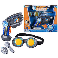Игрушка Rusty Rivets супер инструмент и очки Расти
