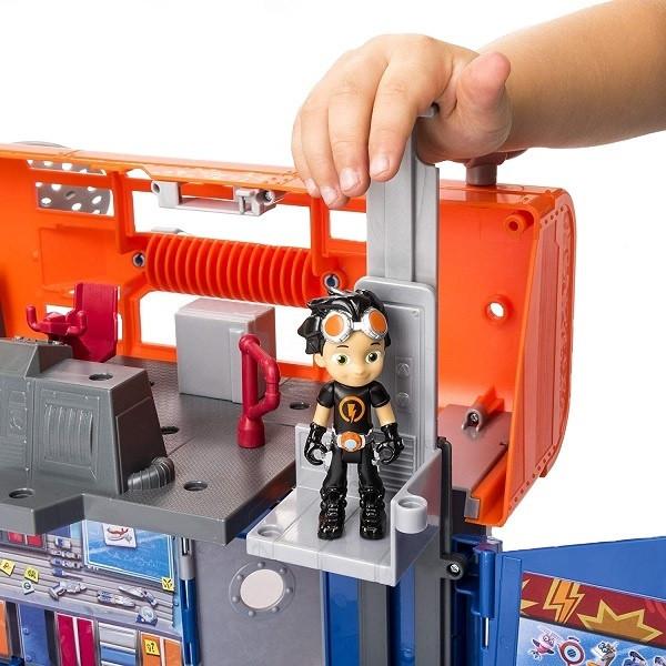 Новинка! Игрушка Rusty Rivets строительная лаборатория Расти - фото 1