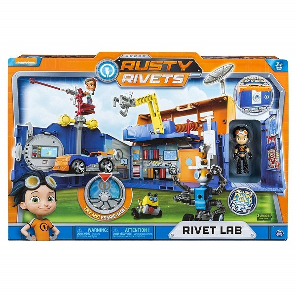 Новинка! Игрушка Rusty Rivets строительная лаборатория Расти - фото 4