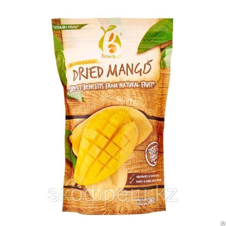 Манго сушеный Dried Mango Benefruit (Thai Tanya) 247 гр