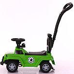 Толокар-каталка Jeep Wrangler WPH1688 3 в 1, хаки, фото 4