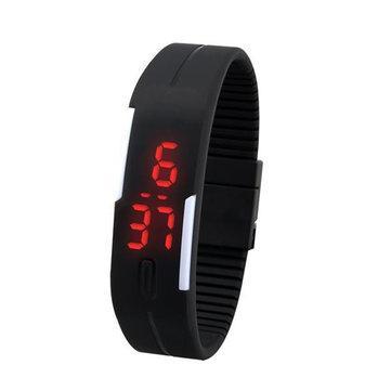 Спортивные силиконовые LED часы браслет