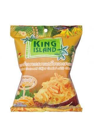 Кокосовые чипсы с карамелью King Island