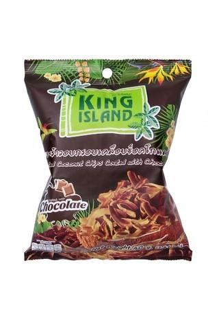 Кокосовые чипсы с шоколадом King Island
