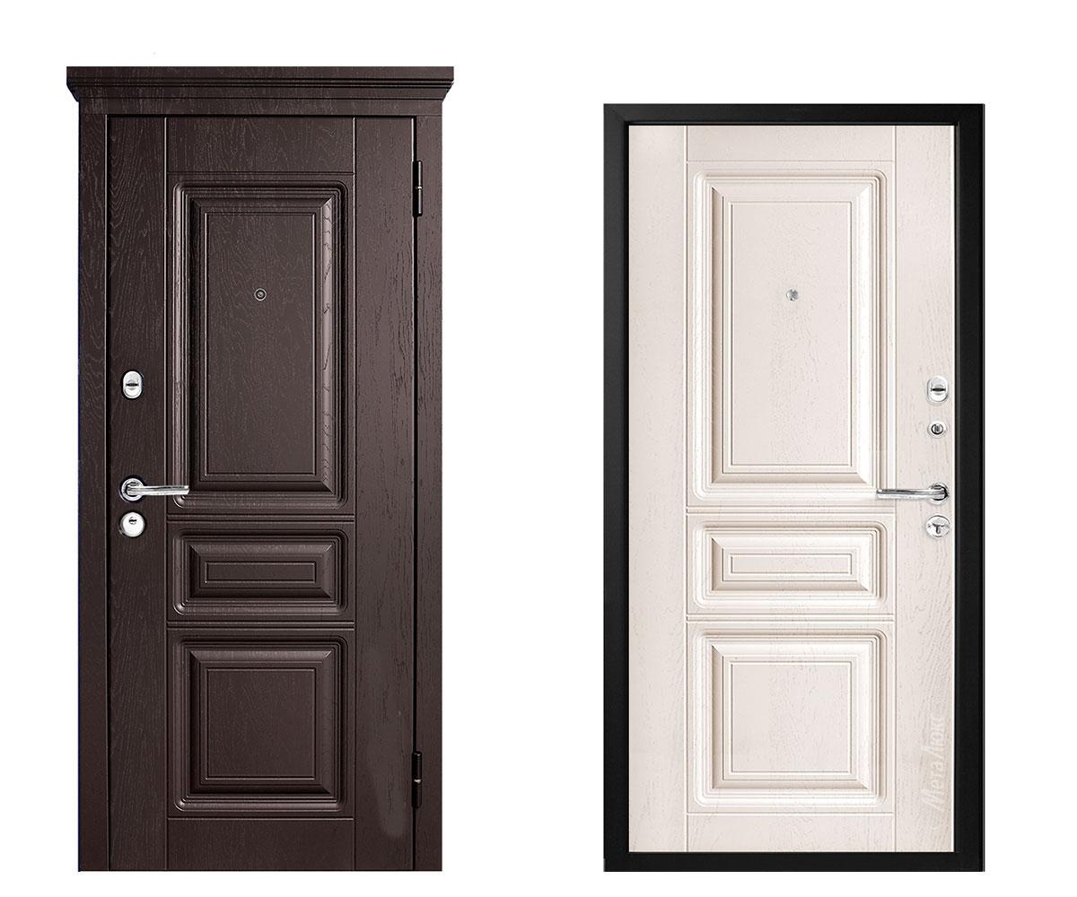 """Дверь металлическая входная """"Металюкс""""Соната М 709"""