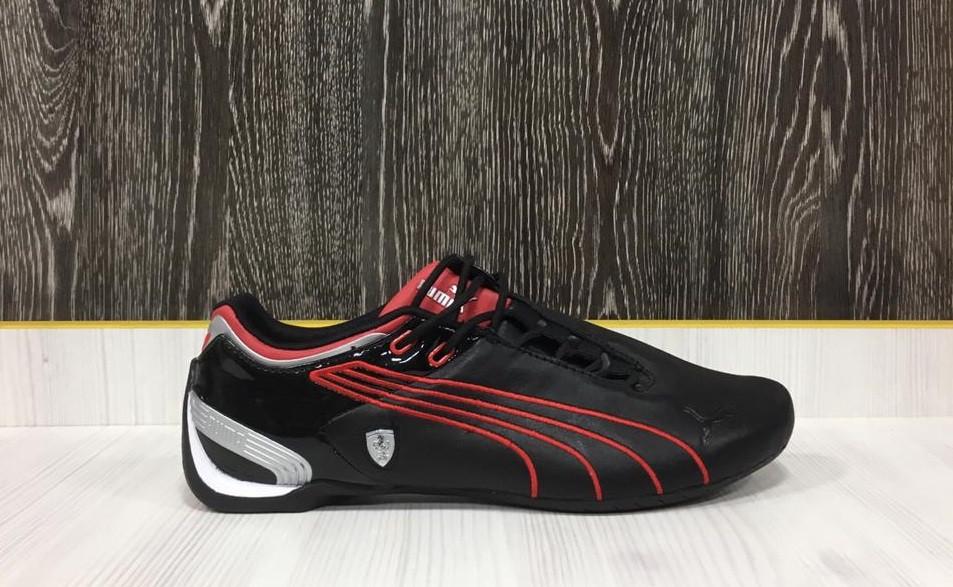 Кроссовки Puma Ferrari Future Cat M2 SF (Black/Red)  41 размер