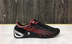 Кроссовки Puma Ferrari Future Cat M2 SF (Black/Red)  41 размер
