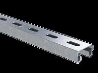 DKC С-образный профиль 41х21, L500, толщ.1,5 мм, горячеоцинкованный, фото 1