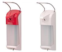 Локтевой дозатор ER T White (белый,для жидкого мыла и дез.средств пластик 1000 мл)