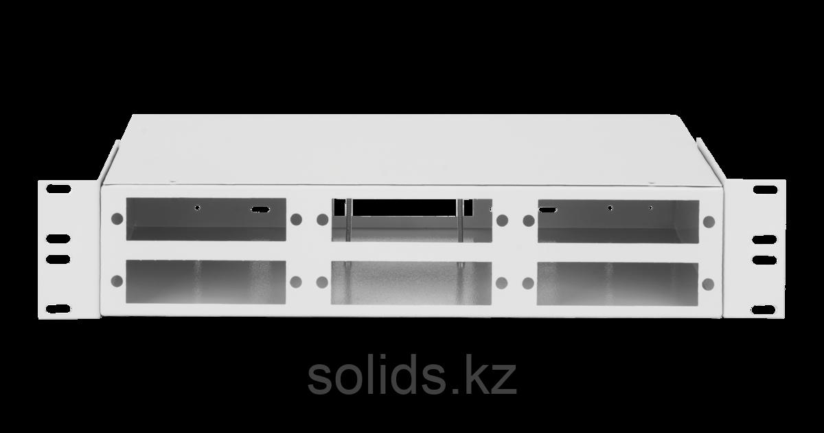 Оптический кросс 2U  до 48 SC/FC портов или 96 LC портов  неукомплектованный