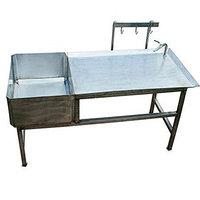 Стол для разбора и проливки кишок