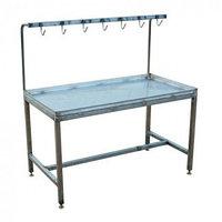 Стол для приема, разбора и ветинспекции ливера