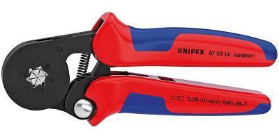 Инструмент для опрессовки кабельных наконечников (0,08-6,0 мм2) Knipex KN-975314