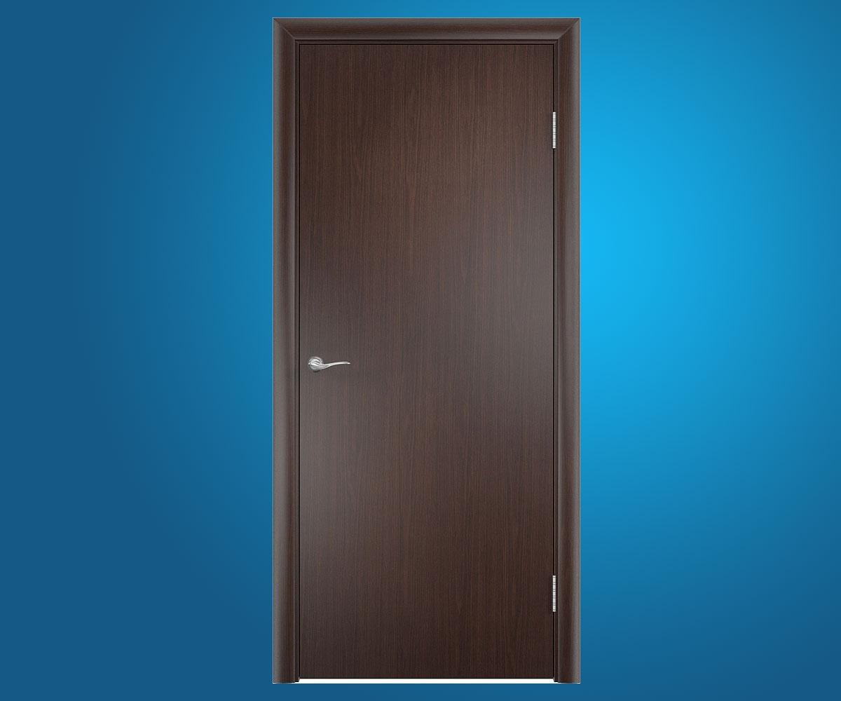 Ламинированные двери ДПГ гладкое финиш-пленка