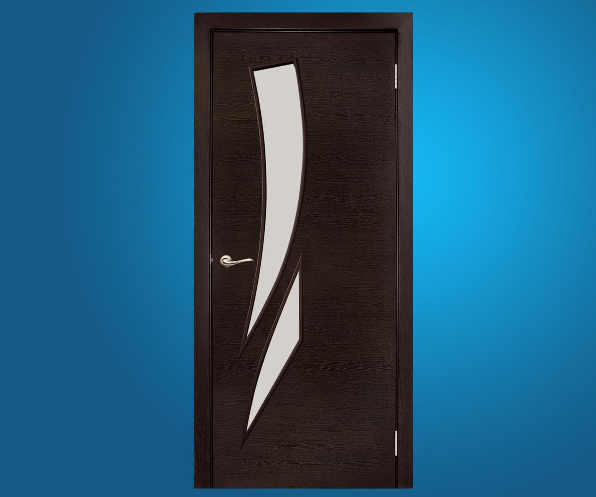 """Ламинированные двери """"Фиеста"""" Венге"""